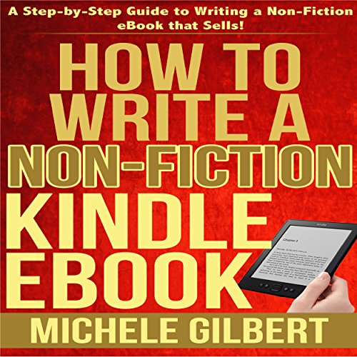 How to Write a Non-Fiction Kindle eBook audiobook cover art