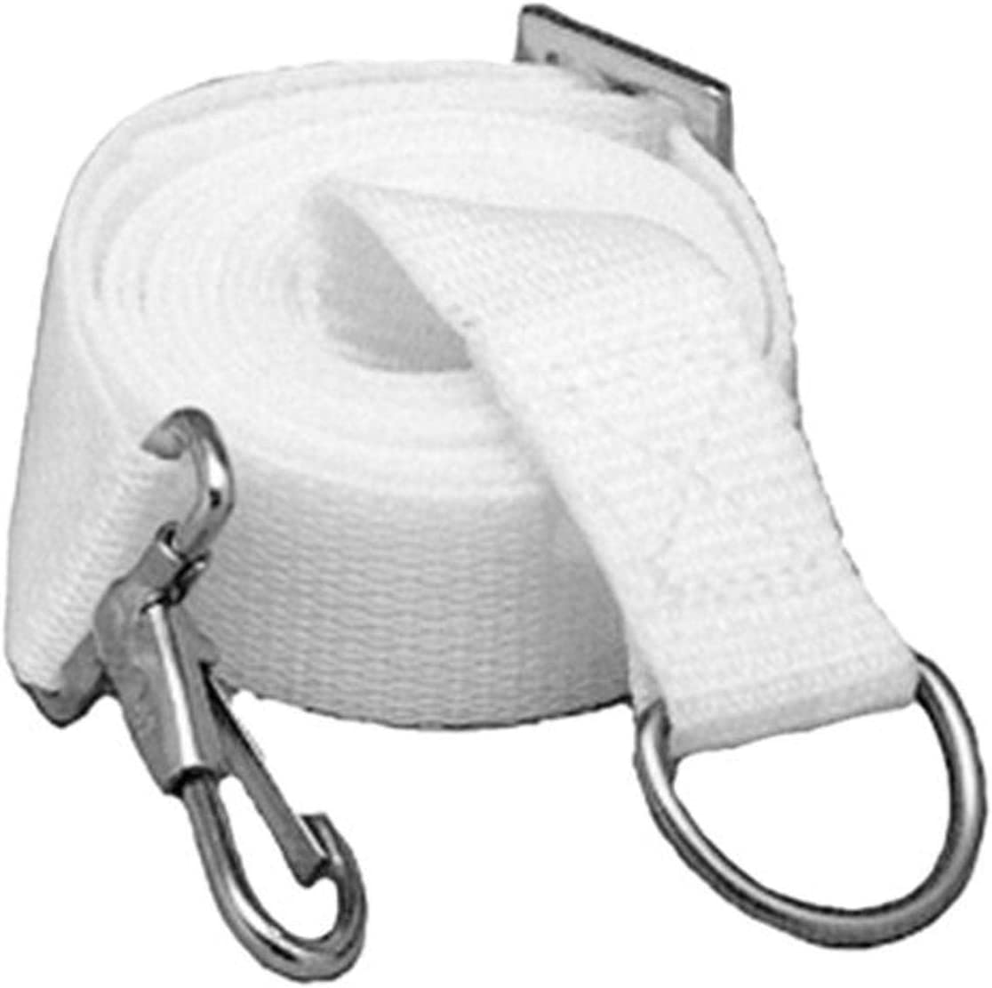 Taylor Made Products 2000 White Marine Adjustable Tie-Down Strap
