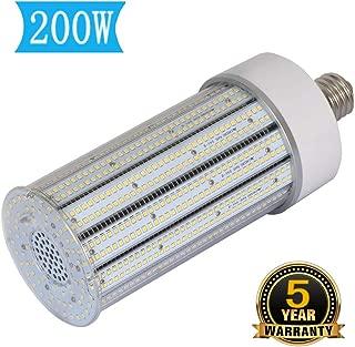 200W LED Corn Light Bulb E39 Mogul Base Led Bulb,1000Watt Equivalent 5000K Daylight Large Area Lamp Replacement for Garage Warehouse High Bay Outside Lighting