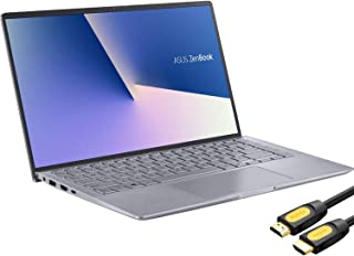"ASUS ZenBook 14"" IPS FHD Laptop, AMD Ryzen 4500U 6-Core up to 4.0 GHz, NVIDIA GeForce MX350 Graphics, 8GB RAM, 256GB SSD, ..."