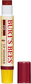 Burt's Bees 100% Natural Moisturising Lip Shimmer, Fig with Shea Butter, Beeswax and Vitamin E, 2.6g