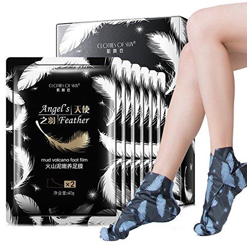 Symeas Pied Peeling Masque Exfoliant Callus Peel Booties Exfoliant Pied Peeling Masque Retirer Dead Skin Masque Pour Les Pieds Épluchage Cuticules Talon Pieds Soins Anti Aging