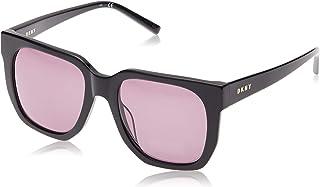 نظارة شمسية للنساء من دي كيه ان واي باطار اسود