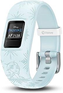Garmin GM-010-01909-72 Vivofit Jr. 2 Frozen 2 Elsa Adjustable Kids Activity Tracker, Blue