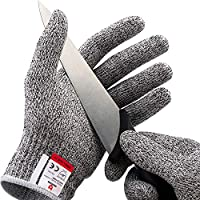Durability with the highest level of cut resistant material available on the market - 4 times stronger than leather. Superior grip with a snug fit for small and large hands - made for preparing food or working on jobs requiring precision. Both gloves...