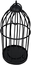 Craft Outlet Bird Cage, 3 x 7-Inch, Black