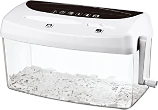 $102 » ZTIAN Hand-cranked File Shredder Manual File Shredder Level 4 Confidential Home Office Small Paper Shredder is Suitable fo...