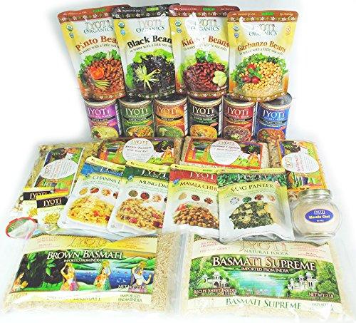 Indian Foods Sampler