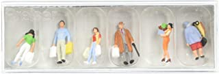 10121 Pedestrians People Shopping pkg(6) HO Scale Figure