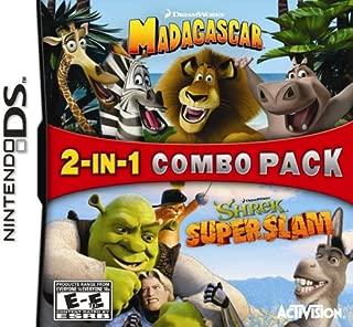 2 in 1: Madagascar / Shrek Super Slam - Nintendo DS
