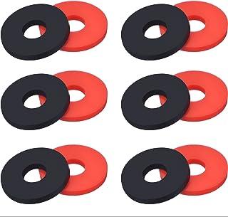 Shappy 6 Pares de Bloqueos de Correa de Guitarra Cerraduras Botones de Seguridad de Correa
