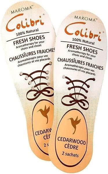 Colibri Shoe Sachet Cedarwood Maroma 2 Sachet