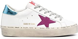 Golden Goose Luxury Fashion Donna GWF00118F00022210247 Bianco Pelle Sneakers   Ss21
