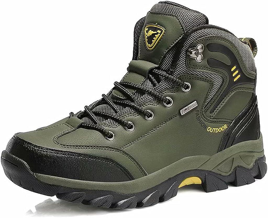 BraveCM Men's high-top Soldering Waterproof Hiking Very popular Boots C Outdoor
