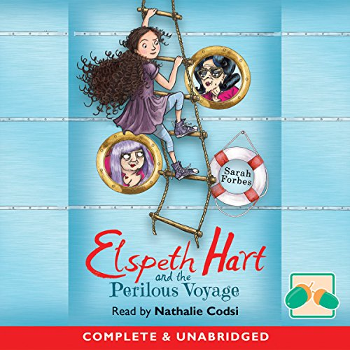 Elspeth Hart and the Perilous Voyage audiobook cover art