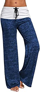 KINDOYO Women's Pilates Pants,High Waist Sports Trousers,Yoga Pants Stretchy Workout Pants Tights Leggings