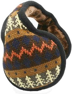 Unisex Winter Earmuffs Knit Foldable Warm Outdoor Ear Warmer by Elfjoy