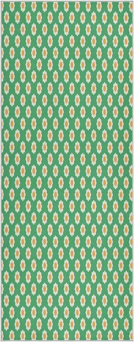 Indianapolis Mall Cute Daisy Flower Yoga Towel Las Vegas Mall Mat Slip Non Sw Super Soft Odorless