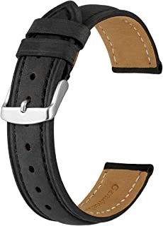 Men's Watch Bands-Vintage Leather Replacement Strap-Choose Width 18mm 20mm 22mm