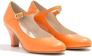 MOOMMO Mary Jane Escarpins à talon carré pour femme Chaussures confortables fermées Pointure 36 à 43