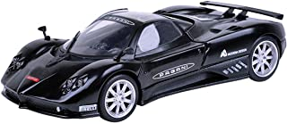 Motormax 1:24 Gt Racing Pagani Zonda F Nurburgring Die Cast Model - Black 661732737833