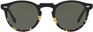 Luxury Fashion | Oliver Peoples Mens OV5217S1178P1 Black Sunglasses | Fall Winter 19