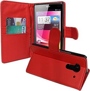 VCOMP Lot Pack skärmskydd för Acer Liquid Z5 Duos – röd