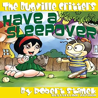 The Bugville Critters Have a Sleepover audiobook cover art