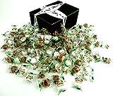 Béghin Say La Perruche Individually Wrapped Rough Cut Brown & White Sugar Cubes, 2 lb Bag in a BlackTie Box