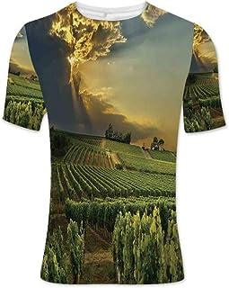 Luau Fashionable T Shirt,for Men,S
