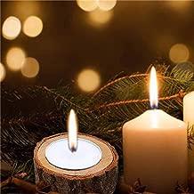 شمعدان صغير من كوسيتي 3 قطع تصميم عمود جديد بلون الشموع على شكل قضيب صغير لتزيين المنزل والحديقة وحوامل الخشب