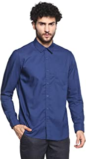 Red Chief Men's Blue Full Sleeves Shirts 8110514 002