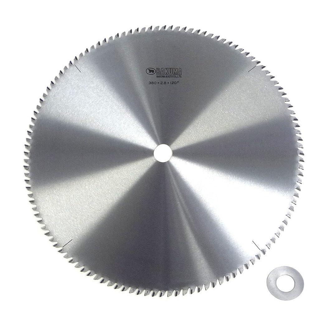 フォーマットドメインきちんとしたBAKUMA(バクマ) チップソー 合板用 380×2.8×120P