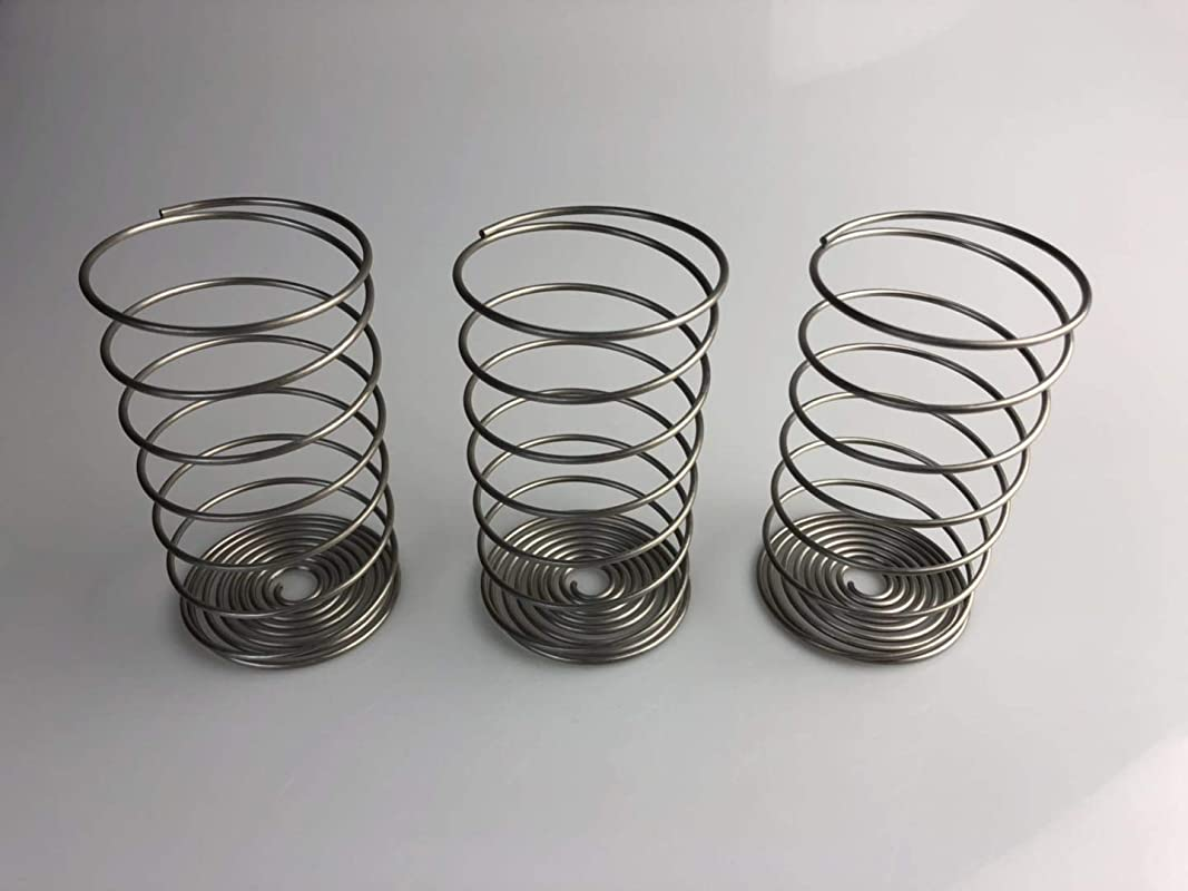 Zhuu Fermentation Weights For Making Sauerkraut In Wide Mouth Mason Jars Stainless Steel Pickle Helix Coils 3 Pack Best Way To Hold Vegetables Under Water For Fermentation