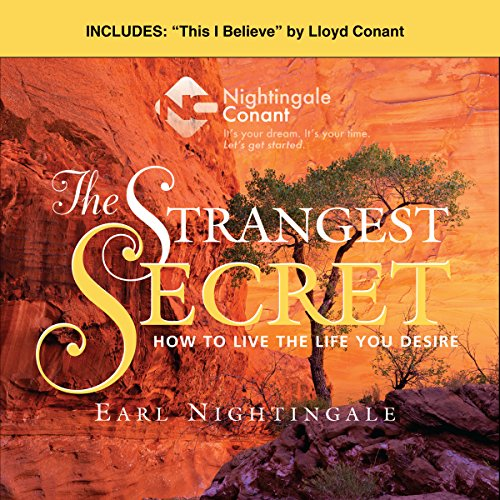 The Strangest Secret and This I Believe audiobook cover art