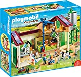 Playmobil - Grande Ferme avec Silo et Animaux - 70132