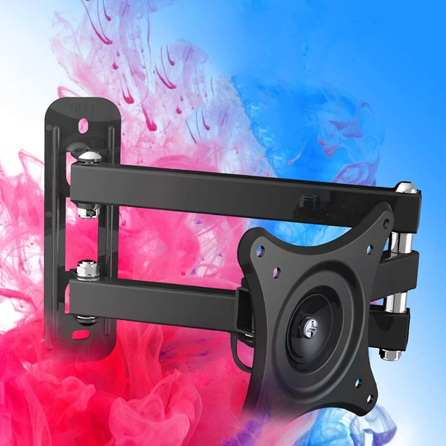 TV Wall Bracket Mount, for 10-24 Inch TV Display Telescopic redation Please Check TV VESA Mounting Holes Before Purchase (HDTV-DL)