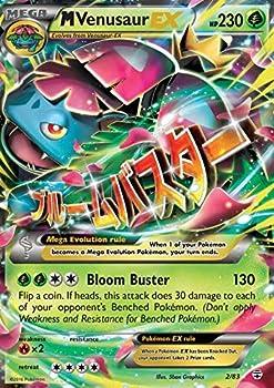 Pokemon - Mega M Venusaur-EX  2/83  - Generations - Holo