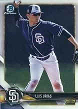 2018 Bowman Chrome Prospects #BCP215 Luis Urias San Diego Padres RC Rookie MLB Baseball Trading Card