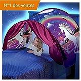 Kangrunmy_ Tente De Lit Enfant Garcon Fille Princesse Tunne Lit RêVe Jouer Pop Up...