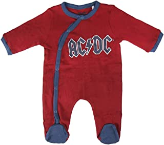 ARTESANIA CERDA Unisex Baby Pelele Interlock ACDC Strampler, rot rot C06, 3 Meses