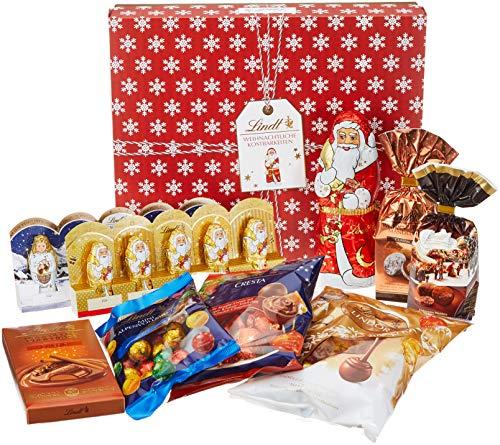 Lindt Schokoladengeschenk Weihnachten (große Auswahl feinster Lindt Weihnachts-Chocolade), 870 g