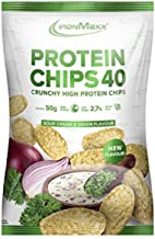 Ironmaxx Protein Chips 40 50 g Beutel Sour Cream Onion Estimated Price : £ 9,89
