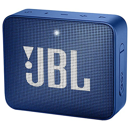 Speaker JBL GO 2 com 3 watts RMS Bluetooth e Auxiliar - Azul