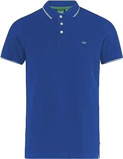Duke D555 Mens Track Big Tall King Size Short Sleeve Casual Tipped Polo Shirt
