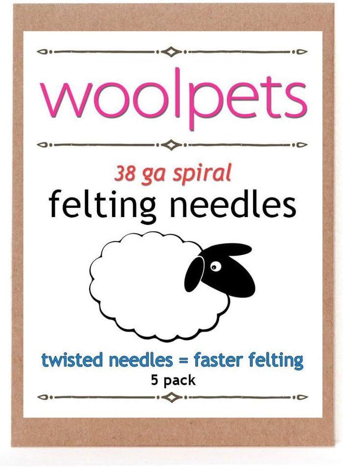 Woolpets Felting Needles 40 Gauge 5 P quality assurance Fine Quality inspection Triangular