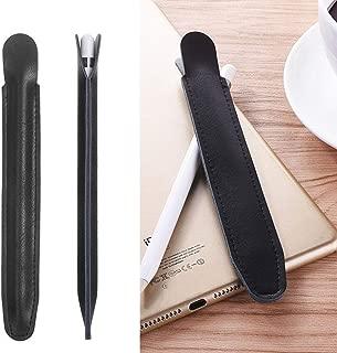 Miss flora MAC accessories .Stylus Pen Protective PU Leather Pouch Holder Storage Case for Apple Pencil(Black) (Color : Black)
