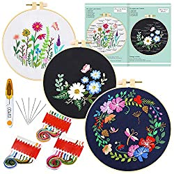 Calming Hobbies: Embroidery Set
