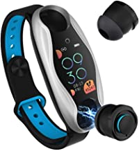 Smart Watch with Bluetooth Earphone, TWS Wireless Earbuds with Fitness Tracker 2-in-1,..