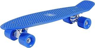 HUDORA Kinder Retro Skateboard – Skateboard Vintage mit ABEC 5 Kugellager